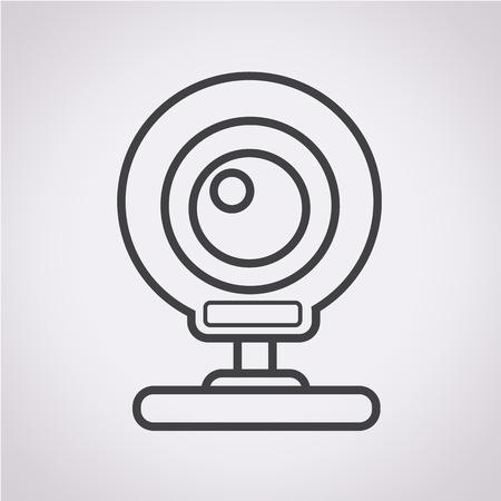 webcam: webcam icon Illustration