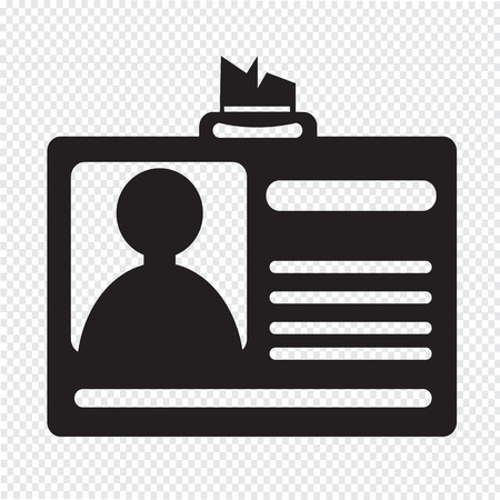 clasp: Identification card icon , ID Card icon