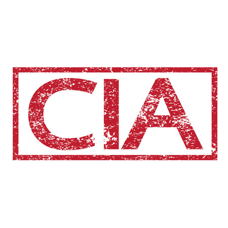Stamp text CIA