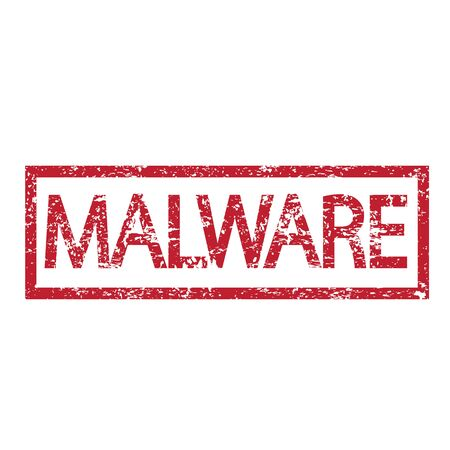insecure: Stamp text MALWARE