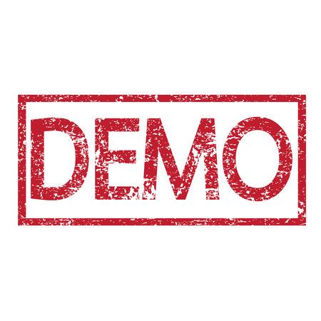 shareware: Stamp text demo