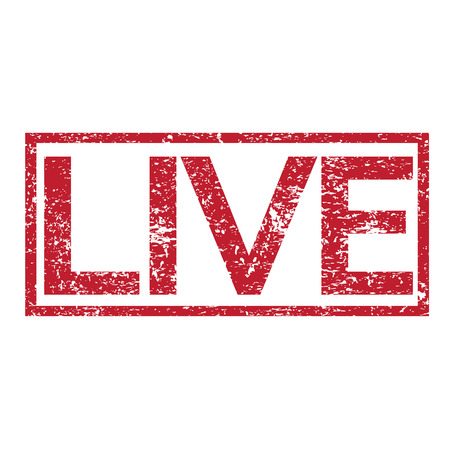 transmitted: Stamp text LIVE