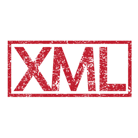html5: Stamp text XML