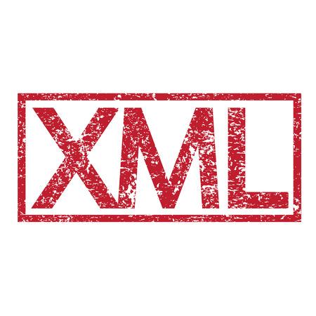 xml: Stamp text XML
