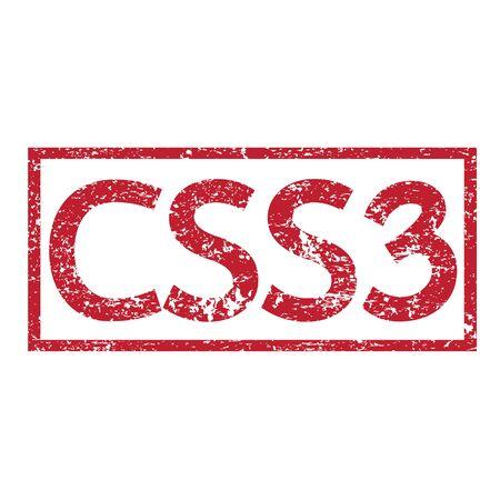 css3: Stamp text CSS3