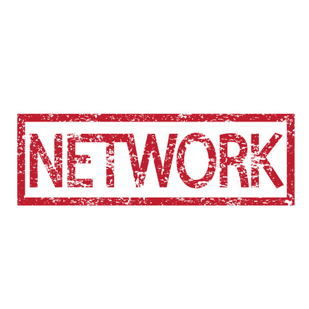 meta: Stamp text NETWORK