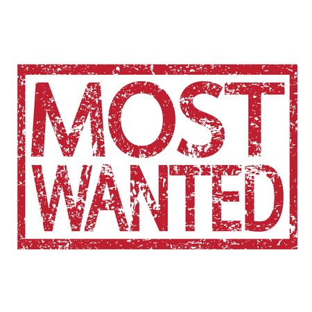 covet: Stamp text MOST WANTED