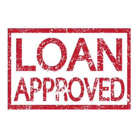 approved stamp: Stamp text LOAN APPROVED