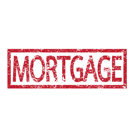 borrower: Stamp text MORTGAGE