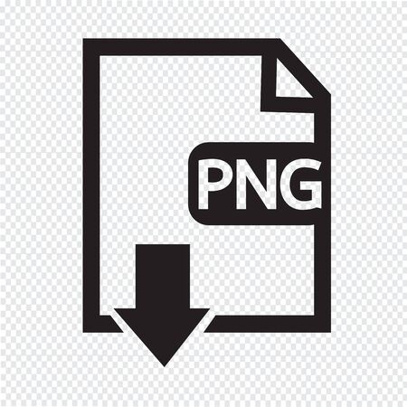 File type PNG icon