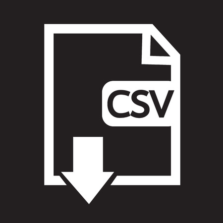 csv: File type CSV icon