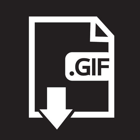 Image File type Format GIF icon