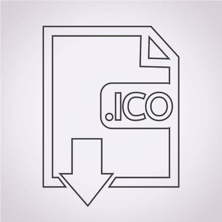 file type: Image File type Format ICO icon