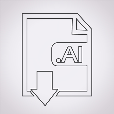 file type: Image File type Format AI icon