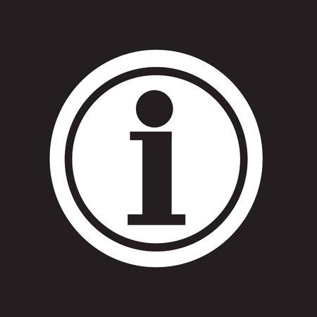informing: Information icon Illustration