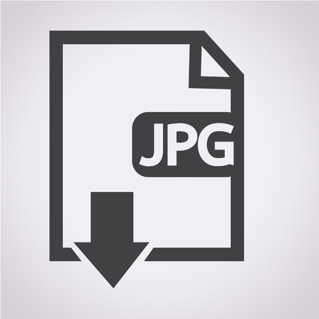 uncompressed: File type JPG icon