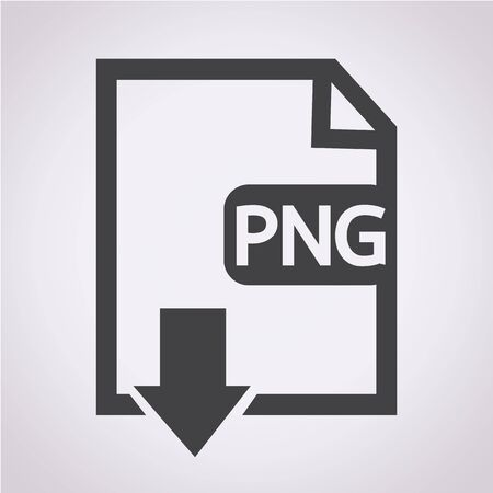 uncompressed: File type PNG icon