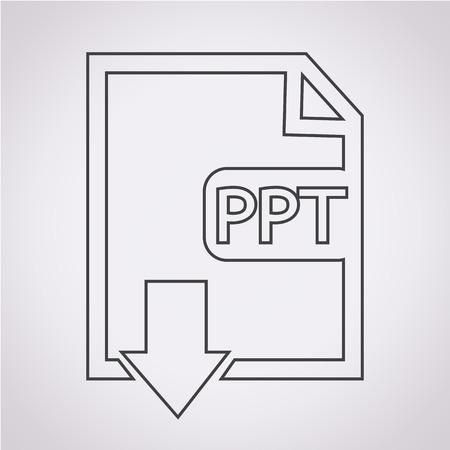 file type: File type PPT icon