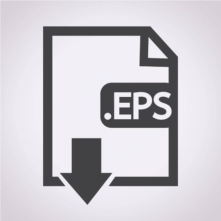 file types: Image File type Format EPS icon