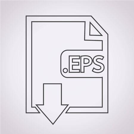 file type: Image File type Format EPS icon