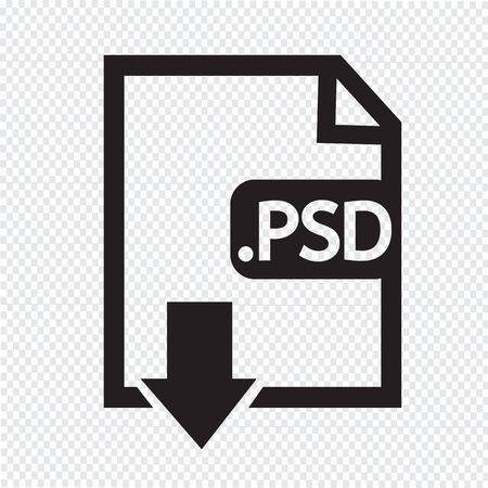 psd: Image File type Format PSD icon