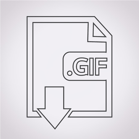file type: Image File type Format GIF icon
