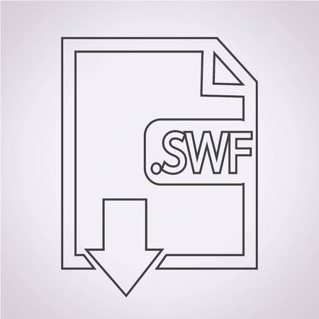 file type: Image File type Format SWF icon