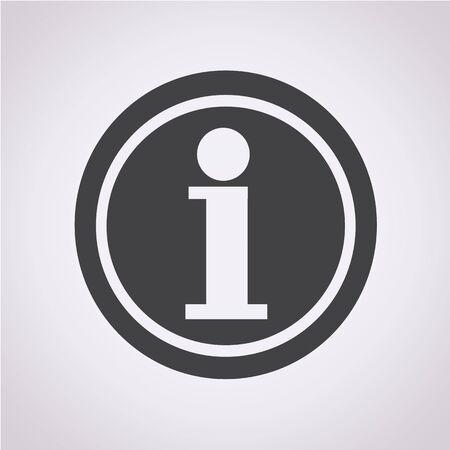 Information icon Vectores