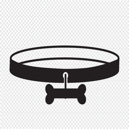collarin: Collar de perro Icono