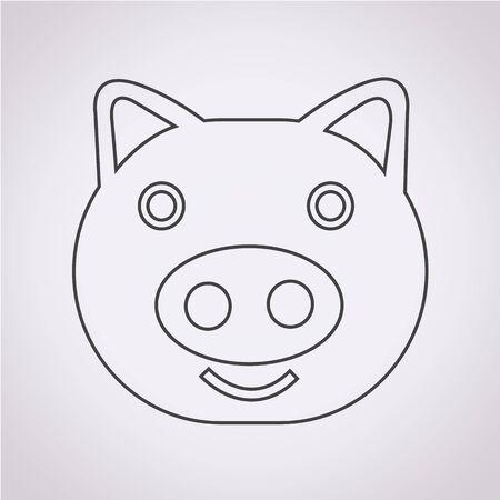 barnyard: Pig Icon