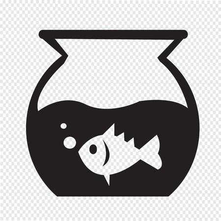 fish bowl: Fish Bowl Icon