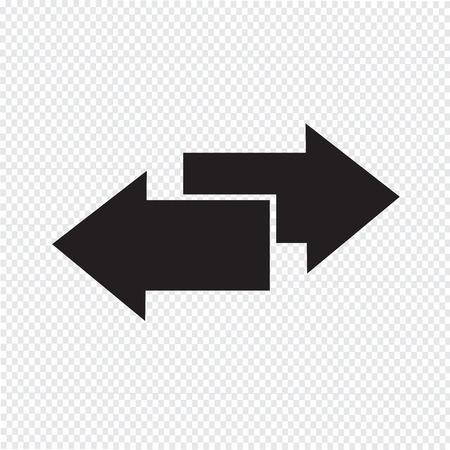 side arrow icon Ilustração