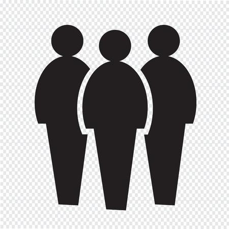 grupos de personas: icono pueblo