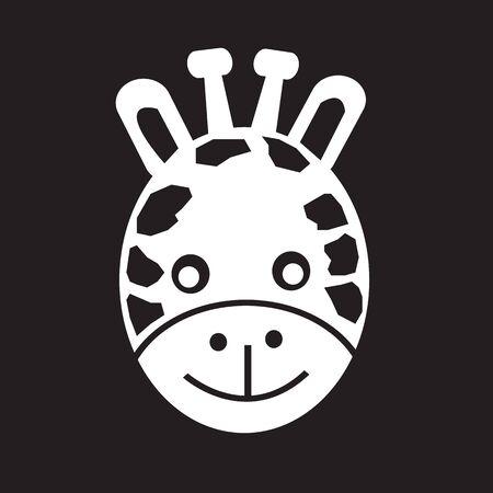 giraffa: Jirafa Icon Face