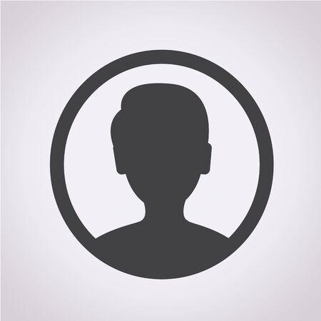 User icon Ilustração