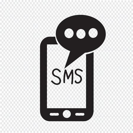 携帯電話の sms テキスト メッセージのメール アイコン
