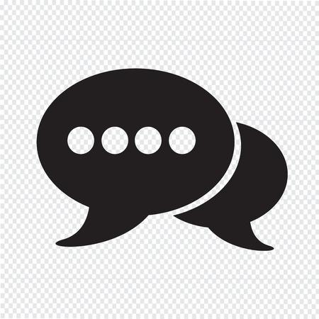 spech bubble: Speech bubbles icon