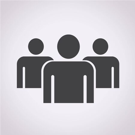 gruppe von menschen: Gruppe Menschen Symbol