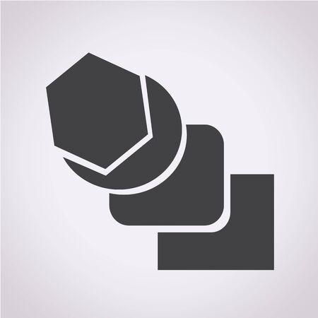 blend: Blend Tool Icon Illustration