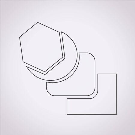 tool icon: Miscela Icona Strumento Vettoriali