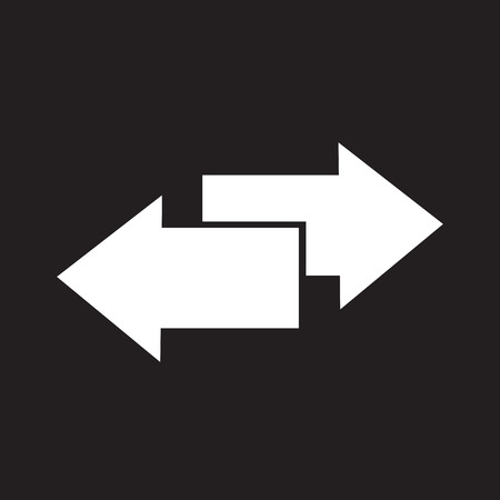 double page: side arrow icon Illustration