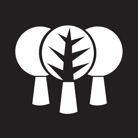 baum symbol: Baum-Symbol Symbol Illustration