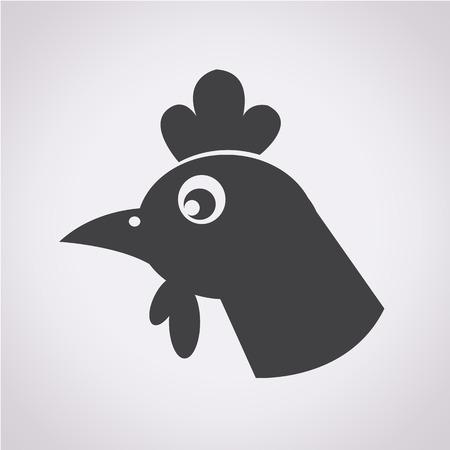 cockscomb: chicken icon