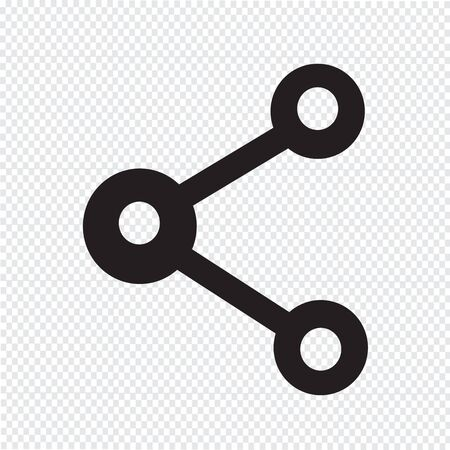 medium group of object: share web icon