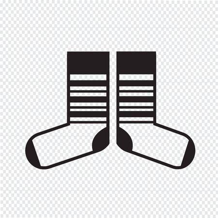 hosiery: Sock icon