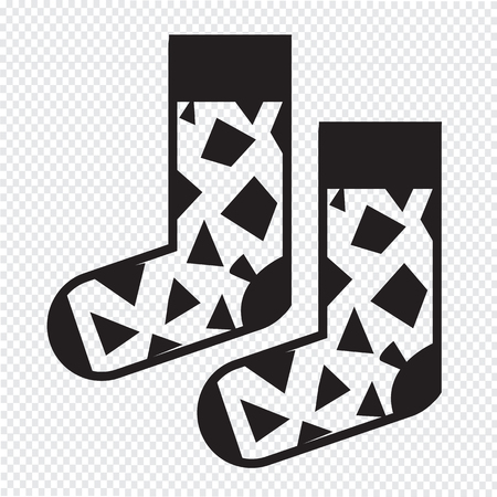 hosiery: Sock icon
