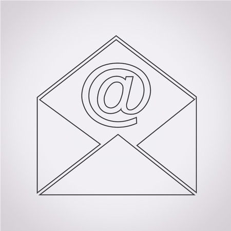envelope icon: Sending email and envelope icon