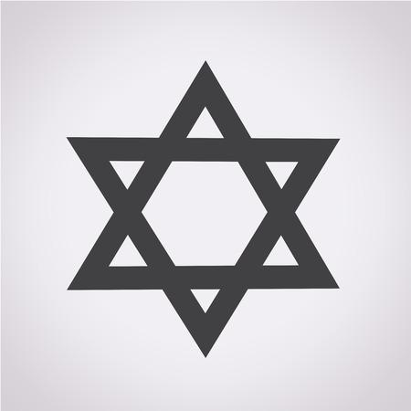 estrella de david: Estrella de David icono