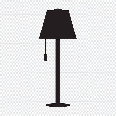 Icono Lámpara de pie