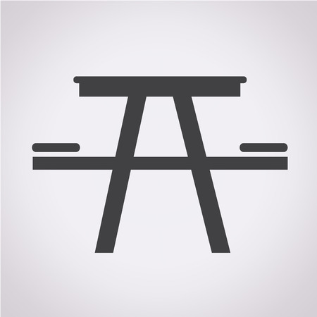 soiree: Camping table icon